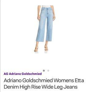Adriano Goldschmeid wide leg jeans (32R)